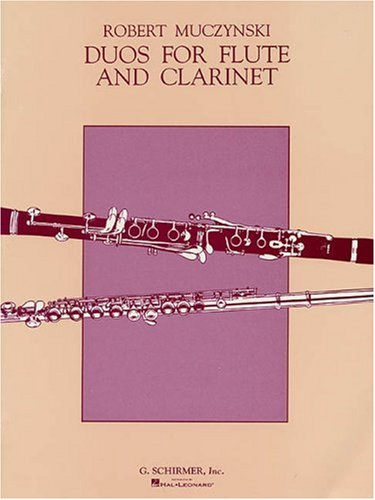 - Duos For Flute And Clarinet Op24 (Also Available For 2 Flutes 50291720)