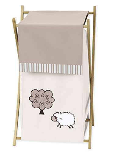 Baby/Kids Clothes Laundry Hamper for Little Lamb Bedding by Sweet Jojo Designs B007TA4FGE