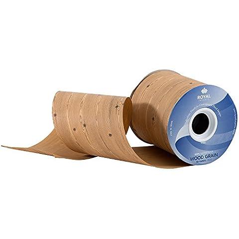 Wood Grain Pattern Poly Satin Waterproof Print Ribbon 4