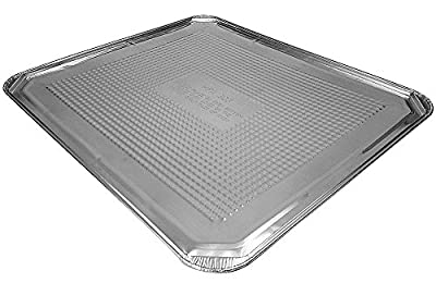 "Handi-Foil of America Aluminum Foil Oven Liner Sheet Pan 20/Pk - 18"" x 15"" Disposable Sheets (Pack of 20)"