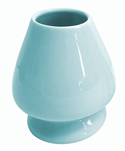 Best Price Matcha Whisk holder - Ceramic Chasen Stand by Zen Superfood (Blue)