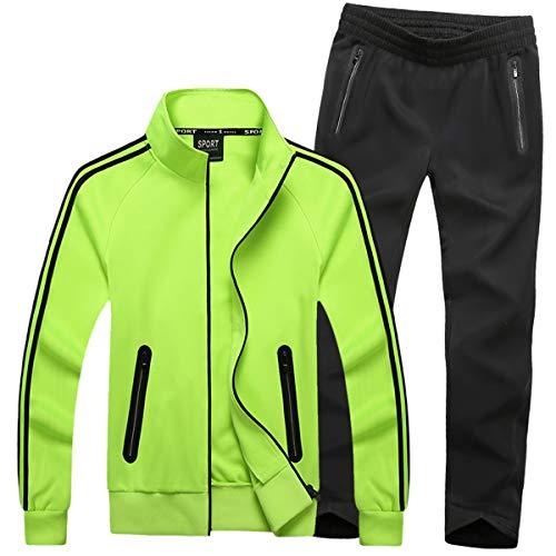 Mirecoo Herren Jogginganzug Trainingsanzug Fitness