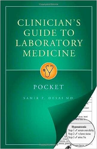 Clinicians guide to laboratory medicine pocket 9780972556187 clinicians guide to laboratory medicine pocket 3rd edition fandeluxe Gallery