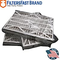 FiltersFast Compatible Replacement for Trion 16 x 25 x 3 (Actual Size:15-3/4 x 24-1/4 x 3) Air Bear Cub Filter - MERV 13 3-Pack