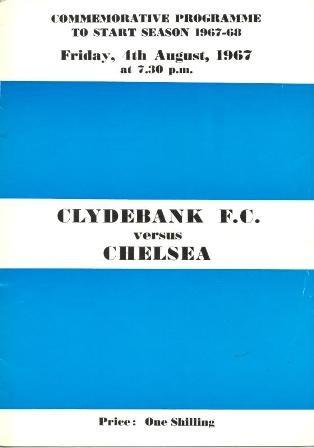 Image result for clydebank v chelsea 1967