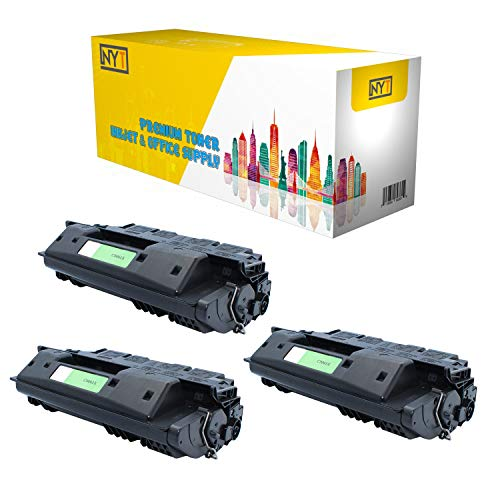 NYT New Compatible 3 Pack C8061X High Yield MICR Toner for HP Laserjet 4100 4100MFP 4100dtn 4100n 4100tn 4101MFPN - Black