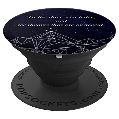 Bookworm ACOMAF To the Stars Night Court Bookish - PopSockets Grip and Stand for Phones and Tablets