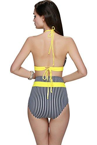 LE BESI - Conjunto - para mujer amarillo
