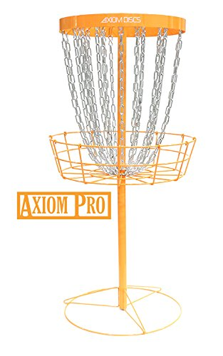 Axiom Discs Pro 24-Chain Disc Golf Basket - Orange by Axiom Discs