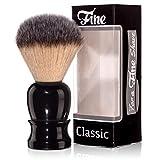 """Best Grade Badger Brushes - Fine """"Classic"""" Shaving Brush (Black) Review"""