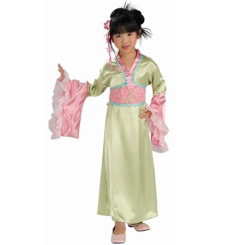 Lets Party By Rubies Costumes Plum Blossom Princess Child Costume / Green - Size Medium (8-10) (Plum Blossom Princess Costume)