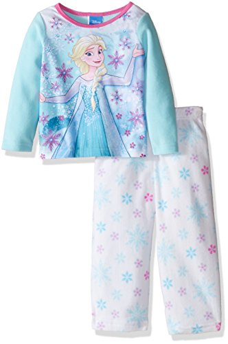 Disney Girls'Frozen Fleece Pajama Set
