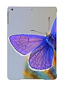 Durable Case For The Ipad Air - Eco-friendly Retail Packaging(purple Butterfly )