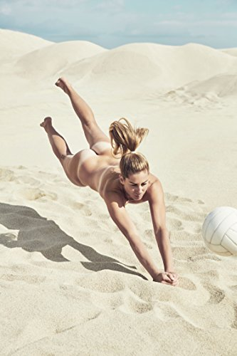 April Ross Sports Poster Photo Limited Print Volleyball Player Naked Nude Sexy Celebrity Olympics Athlete Size 8x10 #1