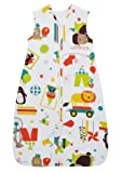 The Gro Company Carnival Travel Grobag, 0-6 Months, 0.5 TOG