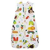 The Gro Company Travel Grobag 0.5 Tog Sleeping Bag, 0-6 Months (Carnival)