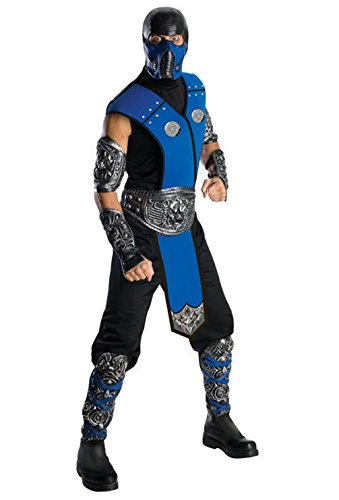 [Mememall Fashion Mortal Kombat Sub-Zero Adult Costume] (Sub Zero Costumes)