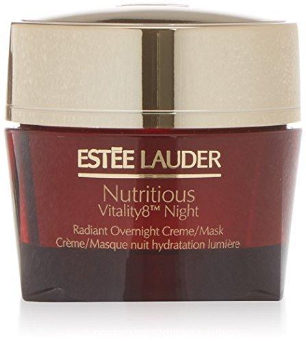 Estee Lauder Nutritious Vitality8 Night Radiant Overnight Creme/Mask - 1.7 OZ / 50 ml by Estee -