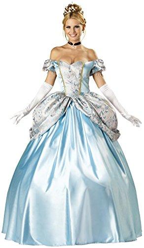 InCharacter Costumes, LLC Women's Enchanting Princess Costume, Blue, X-Large