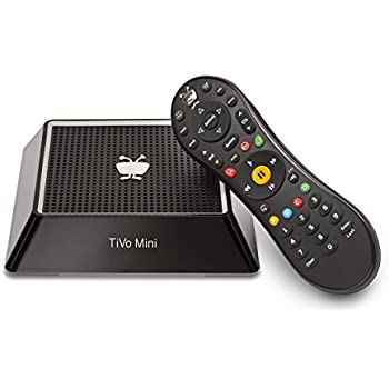 TiVo Mini with IR/RF Remote - No Monthly Service Fees - Extends Your TiVo DVR