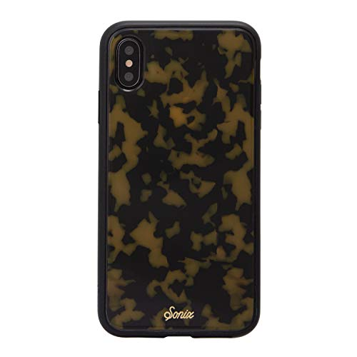 Sonix Brown Tort (Tortoiseshell) Cell Phone Case [Military Drop Test Certified] Protective Tortoise Shell Case Series for Apple iPhone Xs Max ()