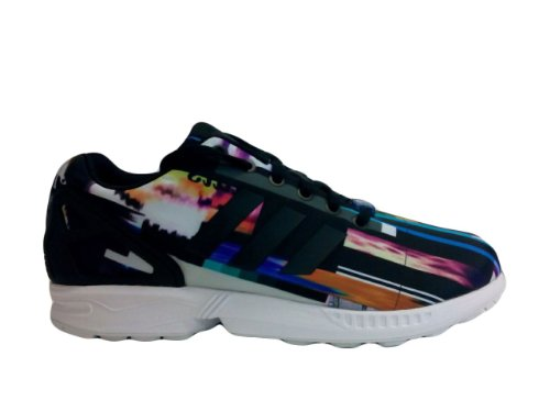 Adidas Mannen Zx Flux Nieuwe Limited Ed Graphics Sneakers M19844 Paal Digitale Multi Color 5