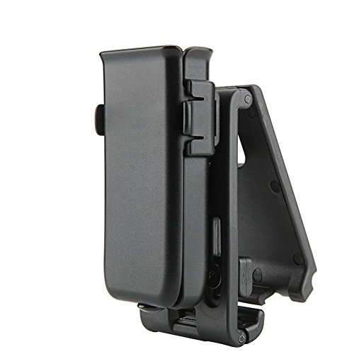 Single Universal Pistol (Cytac Tactical Single Magazine Pouch, Universal Mag Holder with Belt Clip Fits Glock Ruger Sig Sauer Kahr Beretta 1911 Most Pistol Magazines)