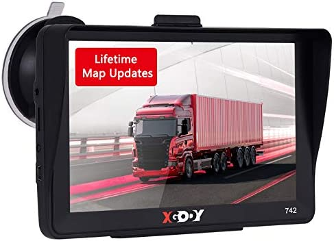 Xgody GPS Navigation for Car Truck Drivers 7-inch Touch Screen