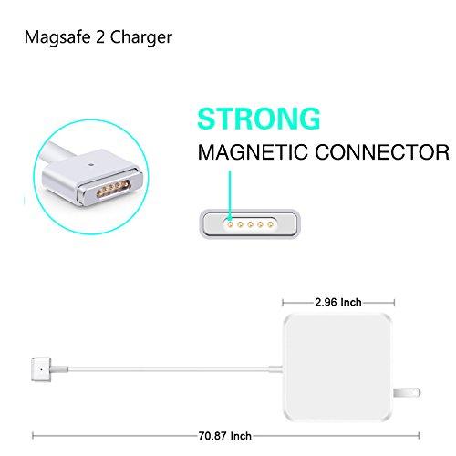 MacBook Pro Charger, Kakivan 85W Magsafe 2 Mac Charger with T-Tip, MacBook Charger 85w Magsafe Power Supply for MacBook Pro 15 Inch (Mid 2012 Later Model) by Kakivan (Image #5)