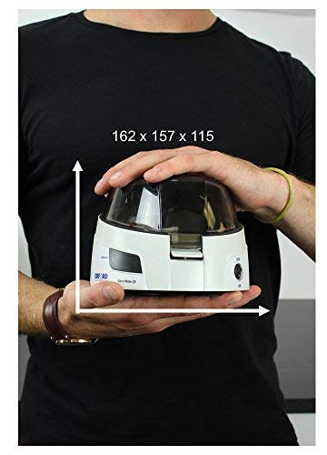 Oxford C8 Centrifuge - Small Digital Micro Centrifuge 8 X 1.5/2.0 mL Capacity, with 2 Adaptor for 0.4, 0.5, 0.2 mL, 6000rpm / 2000xG Speed by Oxford Benchmate