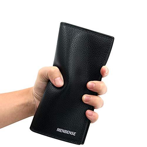 In Gfone Multifunzione Portafoglio Nero Casual Pelle Moda Da Uomo Sintetica PPqFwnICO