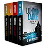 London Large Crime Thriller Series featuring Inspector Harry Hawkins: Books 1-3