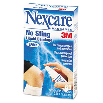 3m Nexcre Liq Sry Bandage Size .61oz 3m Spray Liquid Bandage by MMM C