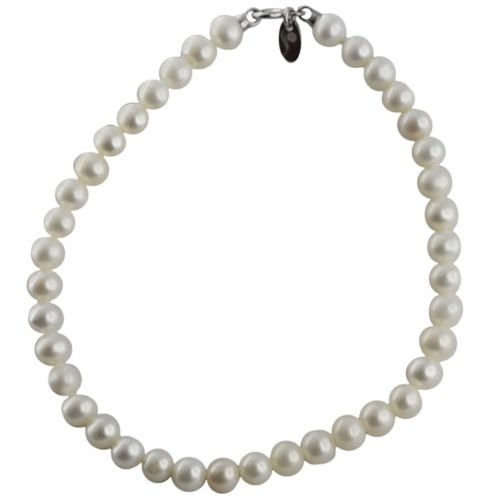 Bracelet Kokichi - Perles cultivées en eau douce 4,5-5mm, avec fermoir en or blanc 18cts 750 / 000
