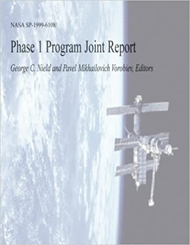 Phase 1 Program Joint Report: National Aeronautics and Space