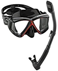 Change your field of view. A comfortable mask for the pro, the semi-pro, and all lovers of the sport who want to see the underwater world more clearly. The Cressi panoramic masks have been designed to give you great visibility, fit, durabilit...