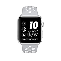 Apple Watch Nike+ 42mm Silver Aluminum Case Silverwhite Nike Sport Band