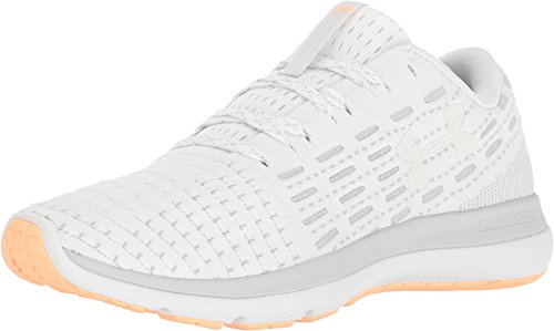 online retailer b001e 447c3 Under Armour Women's UA Threadborne Slingflex White/Glacier Gray/White  Athletic Shoe
