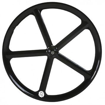 Rueda Mowheel Navigate 5 delantera negro mate: Amazon.es: Deportes y ...