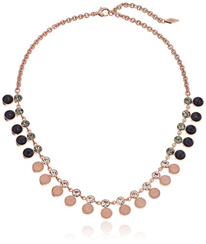 Fossil Multi-Colored Gemstone Necklace, 16