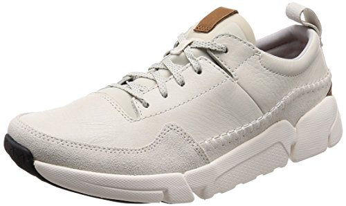 buy cheap best sale with credit card for sale Clarks Men's Triactive Run Trainers White (White Leather ----) from china online discount how much clearance release dates b7k2O