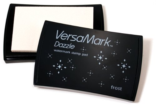 Tsukineko VersaMark Dazzle Pigment Inkpad, Frost-Clear Shimmer