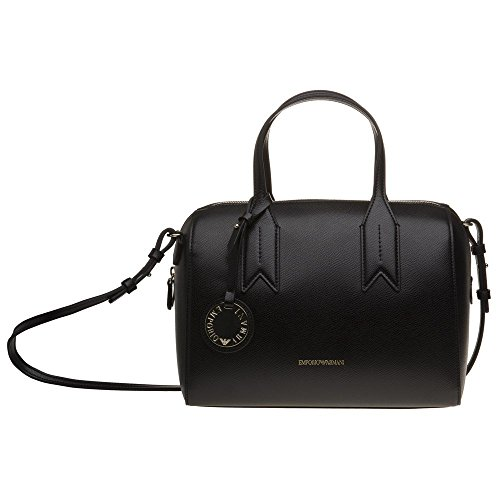 Emporio Armani Twin Handle Donna Handbag Nero Nero