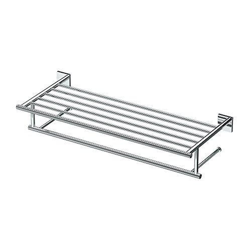 "Gatco 4057 Elevate Minimalist Spa Rack, 26"", Chrome"