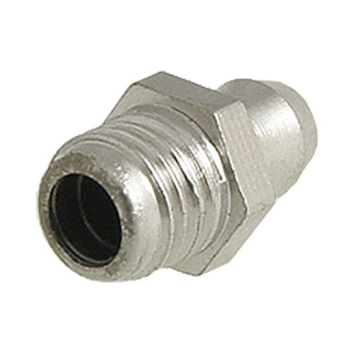 Uxcell m quot male thread straight grease nipple zerk