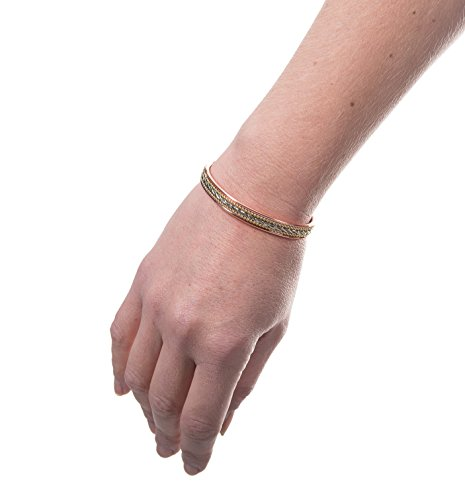 Stylish Elegant Pure Copper Magnetic Therapy Bracelet - Arthritis Relief from Earth Therapy