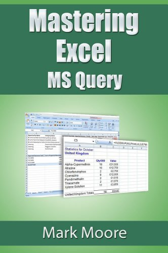 Mastering Excel Query Mark Moore ebook product image