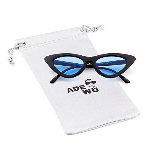 2aee9f966ad ADEWU Cat Eye Sunglasses Clout Goggles for Girls Women