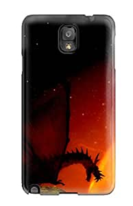 Nicholas D. Meriwether's Shop High Quality Shock Absorbing Case For Galaxy Note 3-dragon In The Sun 1584454K14906547