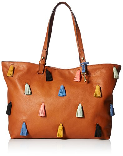 Fossil Rachel Tote, Brown/Multi, One Size by Fossil